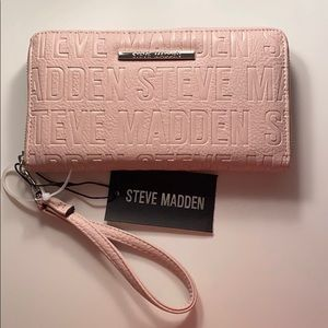 Pink Steve Madden wallet